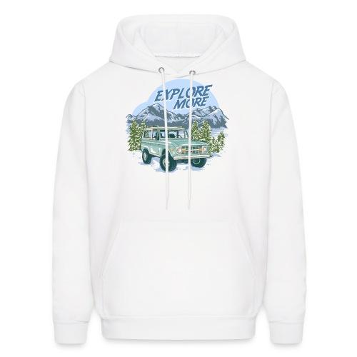 Bronco Truck Explore more II Graphic T-Shirt - Men's Hoodie
