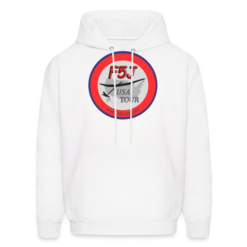 F5J USA Tour logo, front side only - Men's Hoodie