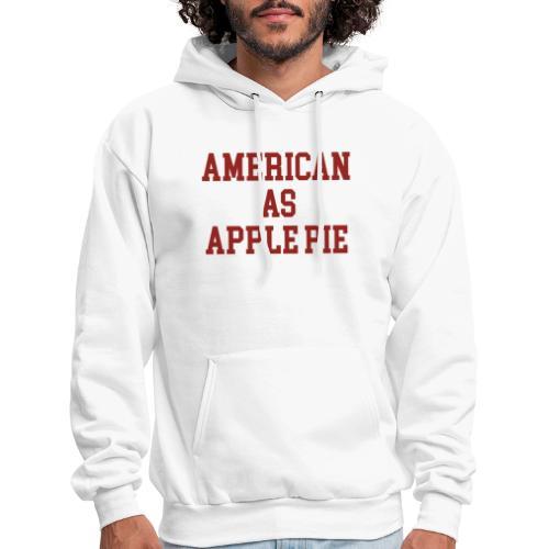 American as Apple Pie - Men's Hoodie