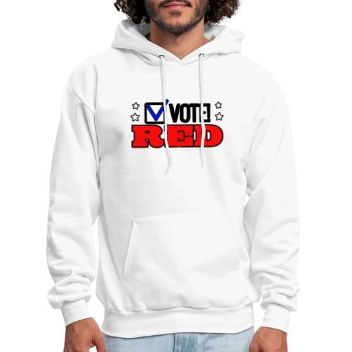 VOTE RED - Men's Hoodie
