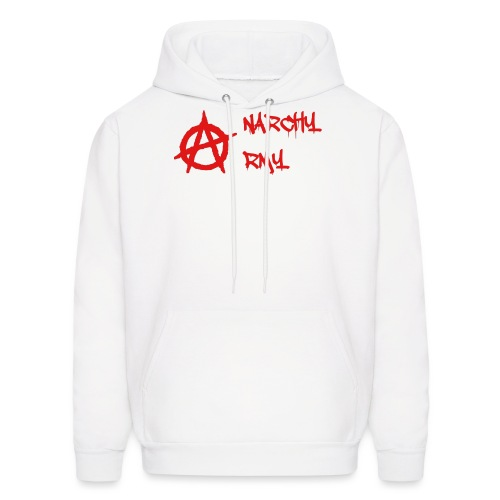 Anarchy Army LOGO - Men's Hoodie