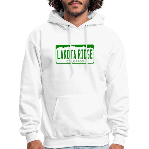 Lakota Ridge License Plate - Men's Hoodie