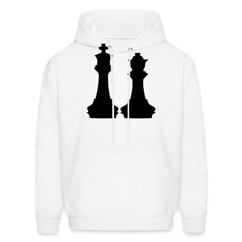 king and queen - Men's Hoodie