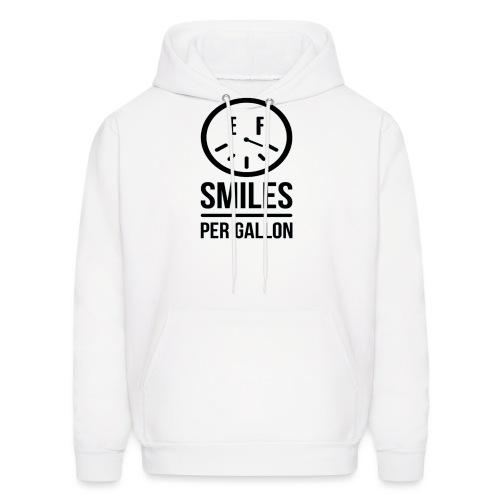 Smiles Per Gallon Shirt png - Men's Hoodie