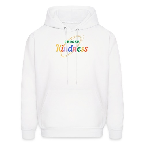 Kindness teeshirt transparent 1 - Men's Hoodie