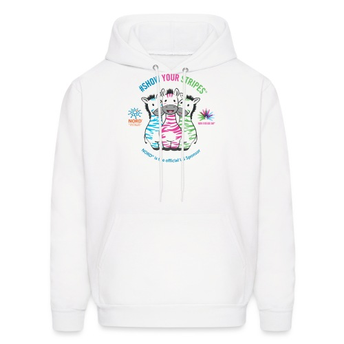 Rare Disease Day #Show Your Stripes - Men's Hoodie