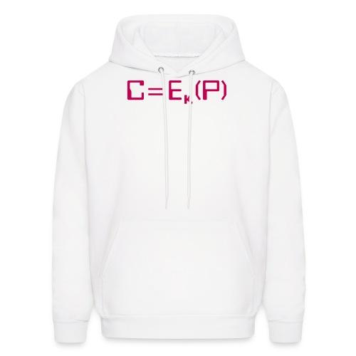 Ciphertext equals encrypted plaintext - Men's Hoodie