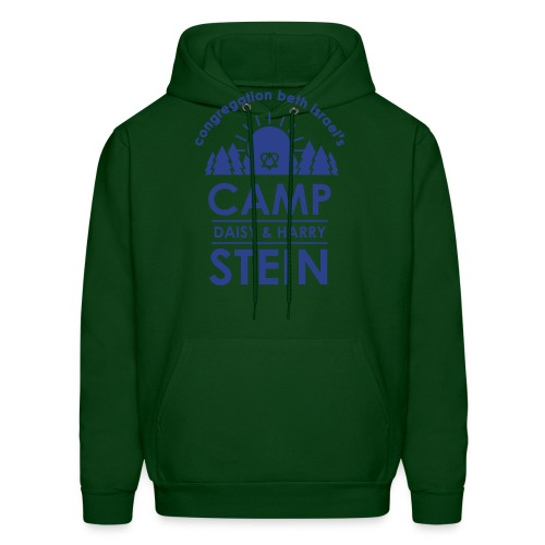 campstein_vert_black - Men's Hoodie