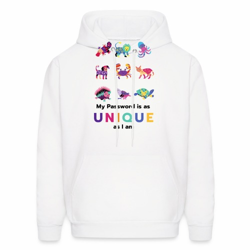 Make your Password as Unique as you are! - Men's Hoodie