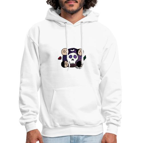 Moon Skull from Outer Space - Men's Hoodie