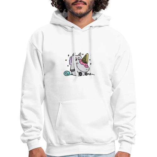 Ice Cream Unicorn - Men's Hoodie