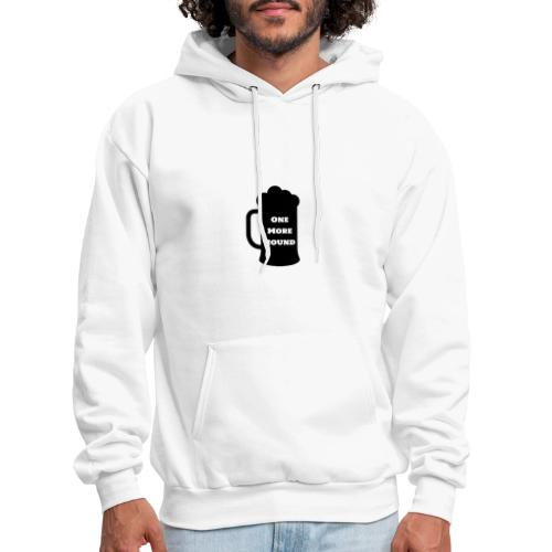 ONE MORE ROUND / AMBER EYES DOUBLE SIDED - Men's Hoodie