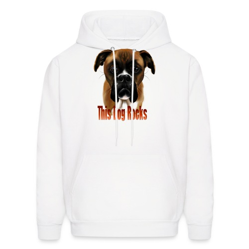 This Dog Rocks - Men's Hoodie