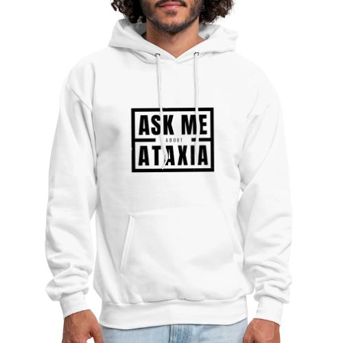 Ask Me About Ataxia Black - Men's Hoodie