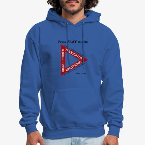 Press PRAY to Sync - Men's Hoodie