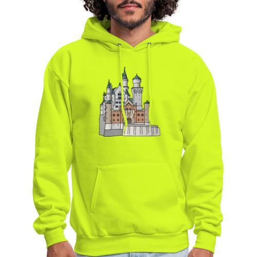 Neuschwanstein Castle, Bavaria - Men's Hoodie