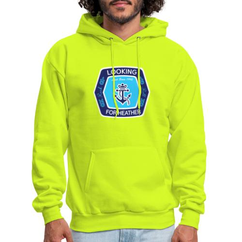 Looking For Heather Stock Logo - Men's Hoodie