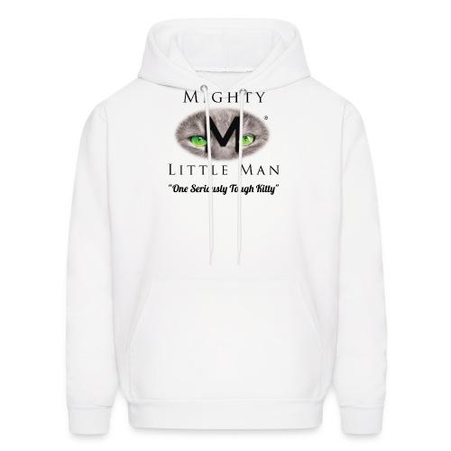 MIGHTY LITTLE MAN Logo - Men's Hoodie