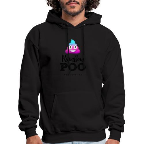 Rainbow Poo - Men's Hoodie