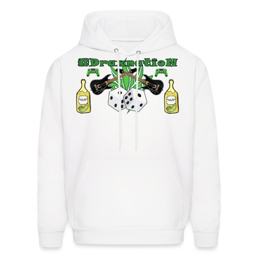draxnationtest png - Men's Hoodie