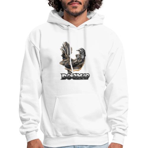 DooM49 Black and White Chicken - Men's Hoodie
