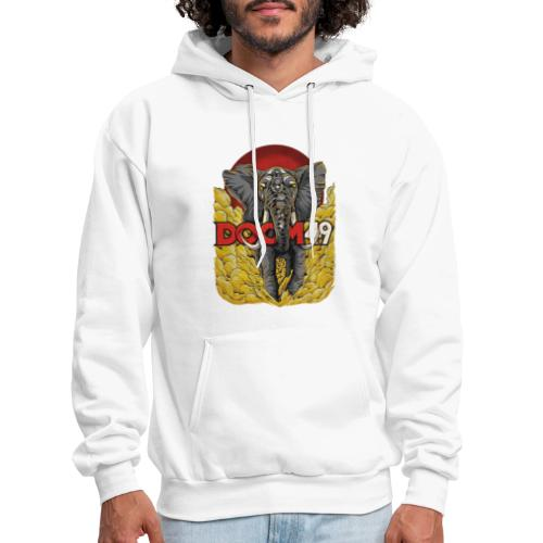 Yellow Smoke Elephant by DooM49 - Men's Hoodie