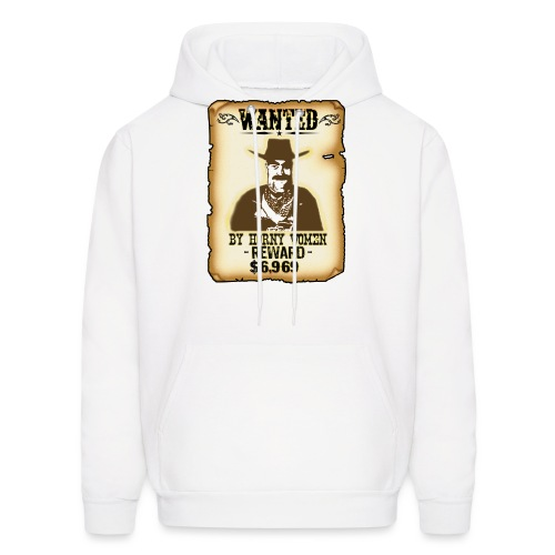 Cowboy Ox-Mad Wanted Poster! - Men's Hoodie