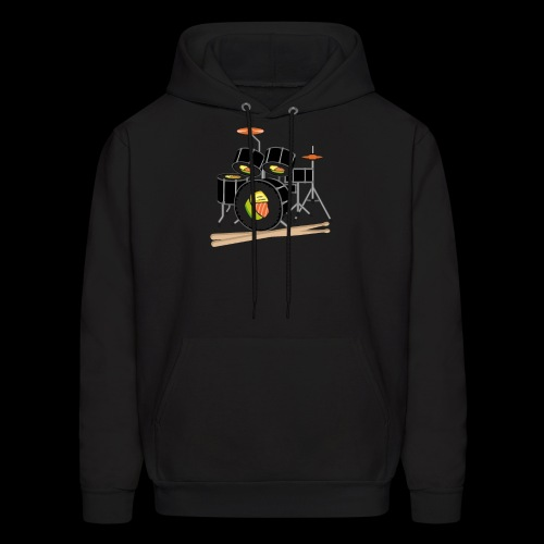 Sushi Roll Drum Set - Men's Hoodie