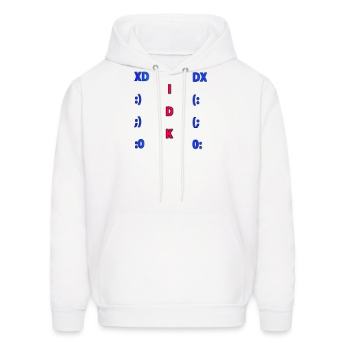 Many Faces! - Men's Hoodie