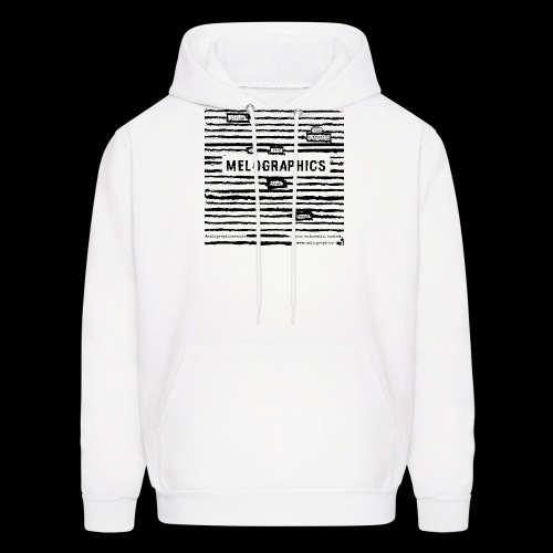 MELOGRAPHICS | Blackout Poem - Men's Hoodie