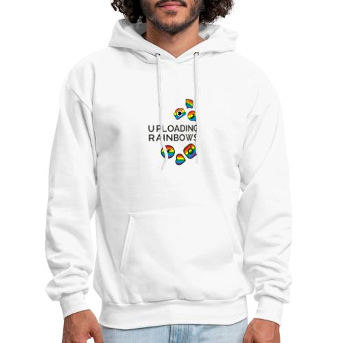 Celebrate the Rainbow - Shout Out Get Social - Men's Hoodie