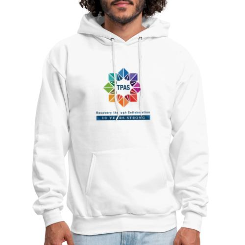 TPAS Color Stacked 10TH 5 13 TPAS OPTION A - Men's Hoodie