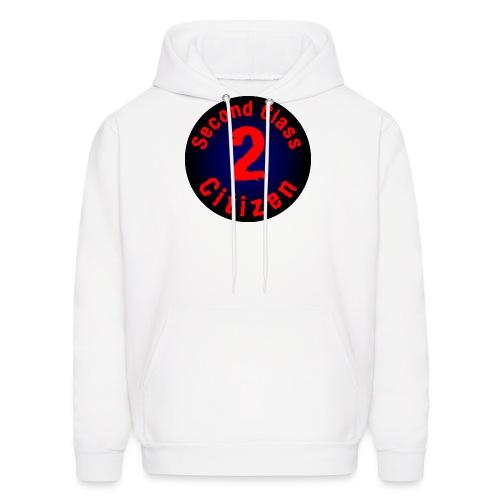 2nd Class Citizen Logo (Dark) - Men's Hoodie