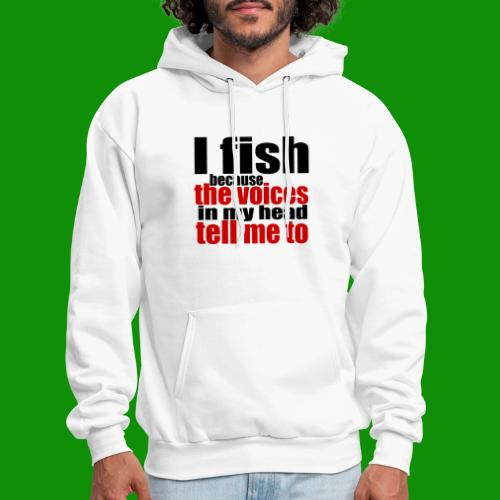 Fishing Voices - Men's Hoodie