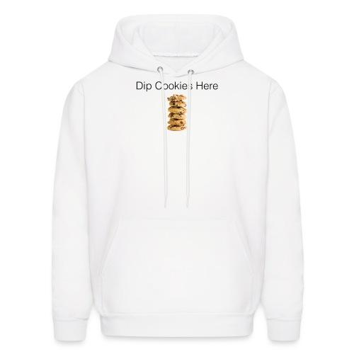 Dip Cookies Here mug - Men's Hoodie