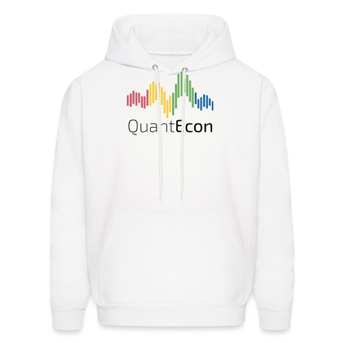 QuantEcon Official Logo - Men's Hoodie
