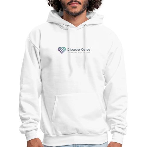 DiscoverCorp Logo Horizontal High 4 1 - Men's Hoodie