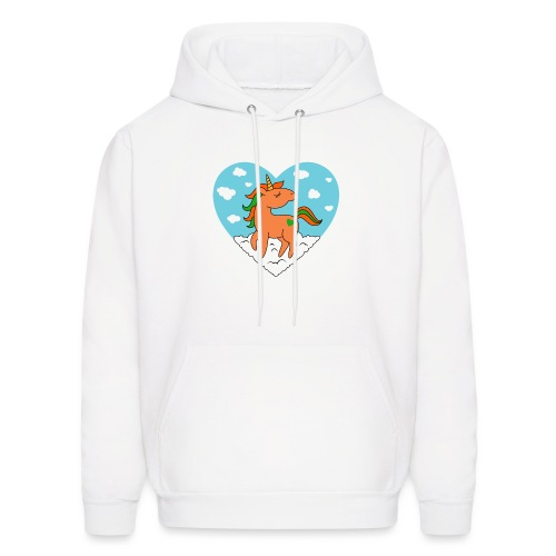 Unicorn Love - Men's Hoodie