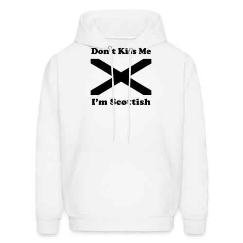 Don't Kiss Me, I'm Scottish - Men's Hoodie