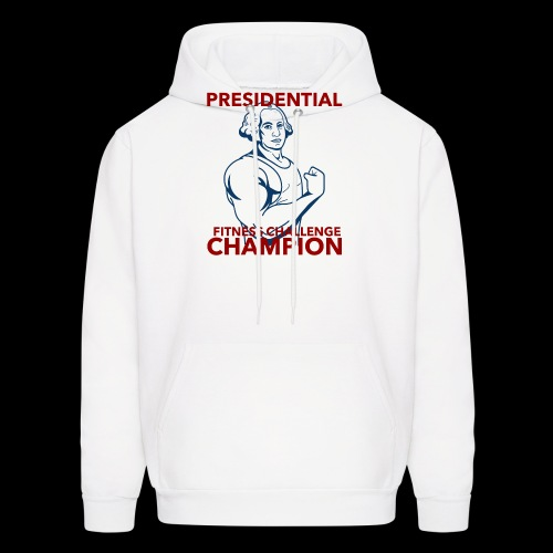 Presidential Fitness Challenge Champ - Washington - Men's Hoodie
