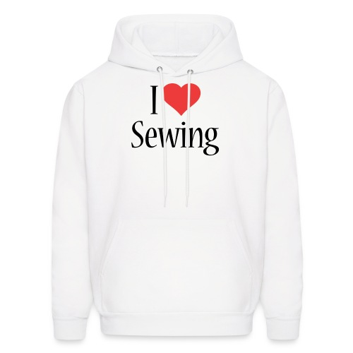 I Love Sewing - Men's Hoodie