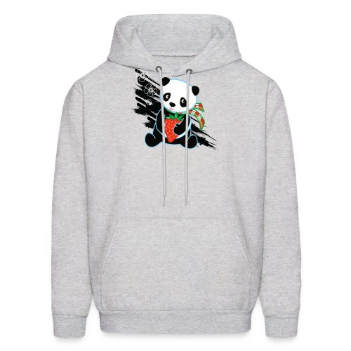 Cute Kawaii Panda T-shirt by Banzai Chicks - Men's Hoodie