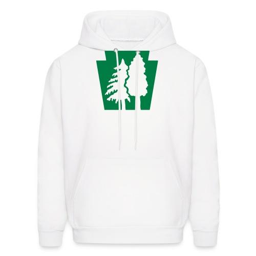 PA Keystone w/trees - Men's Hoodie