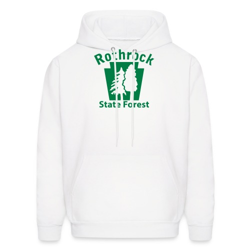 Rothrock State Forest Keystone (w/trees) - Men's Hoodie