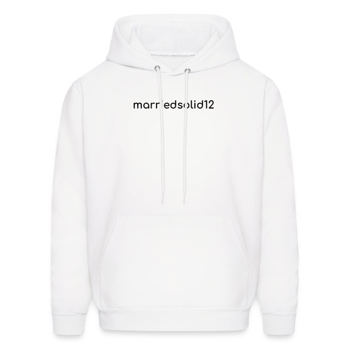 Basic MarriedSolid12 Design - Men's Hoodie