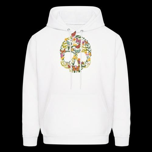 Botanical Skull - Men's Hoodie