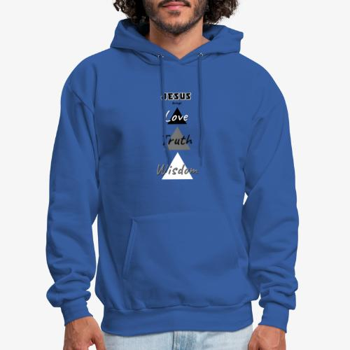 Love Truth Wisdom - Men's Hoodie