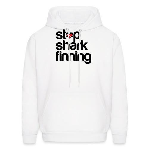 Stop Shark Finning - Men's Hoodie