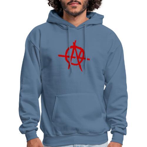 Anarchy (Red) - Men's Hoodie