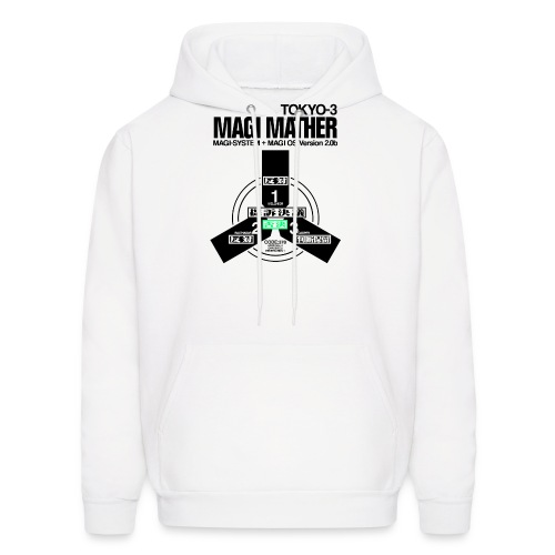 MAGI MATHER (WHITE) - Men's Hoodie